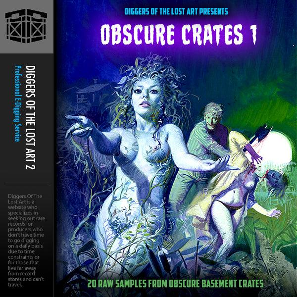 Obscure Crates 1 - Boom Bap Labs