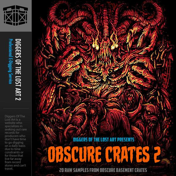 Obscure Crates 2 - Boom Bap Labs