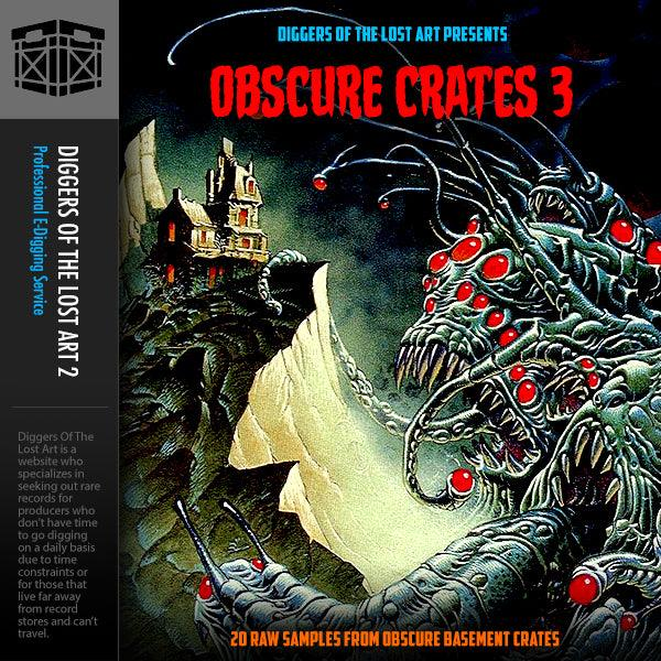 Obscure Crates 3 - Boom Bap Labs
