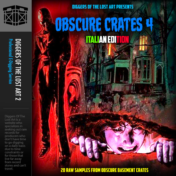 Obscure Crates Volume 4 (Italian Edition)