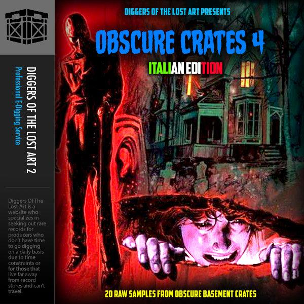 Obscure Crates 4 (Italian Edition) - Boom Bap Labs