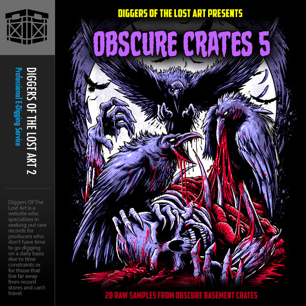Obscure Crates 5 - Boom Bap Labs