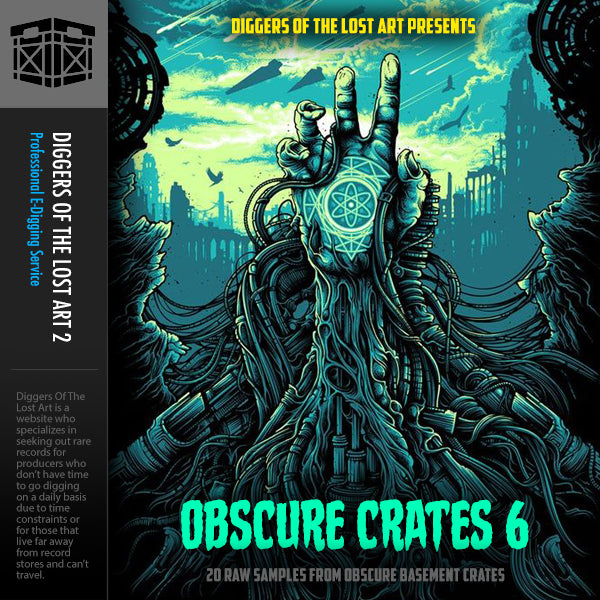 Obscure Crates 6 - Boom Bap Labs