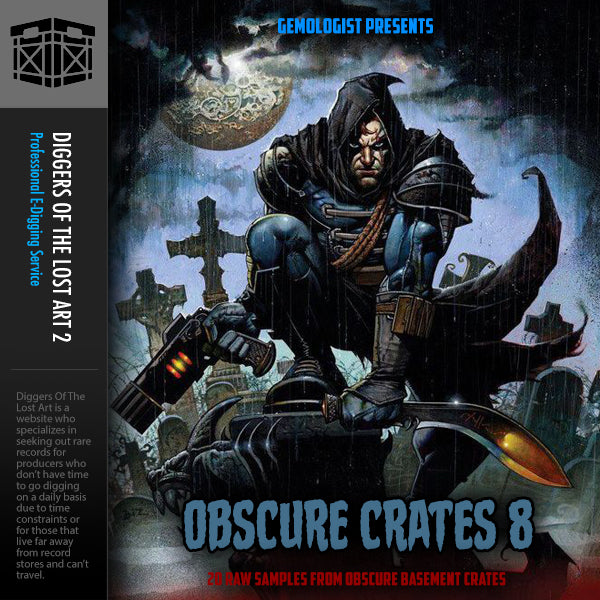 Obscure Crates 8 - Boom Bap Labs