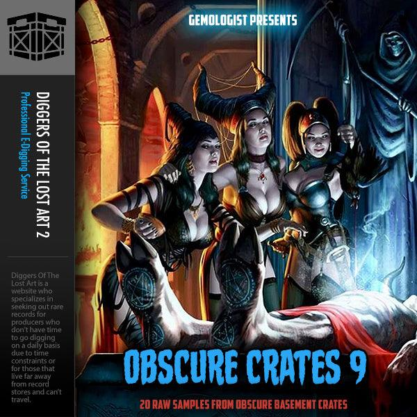 Obscure Crates 9 - Boom Bap Labs