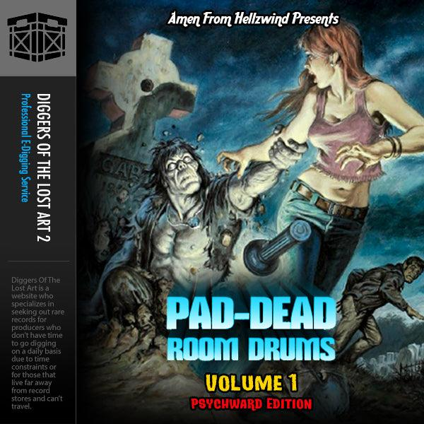 Pad-Dead Room Drums Volume 1