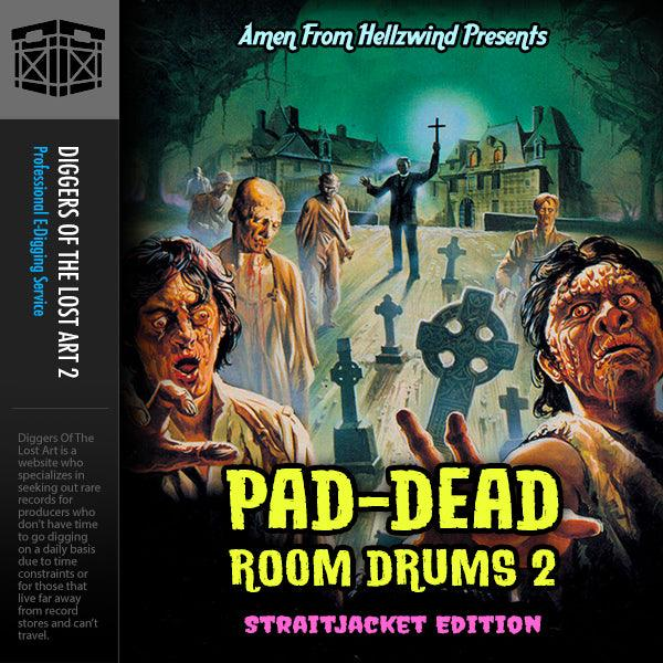 Pad-Dead Room Drums Volume 2