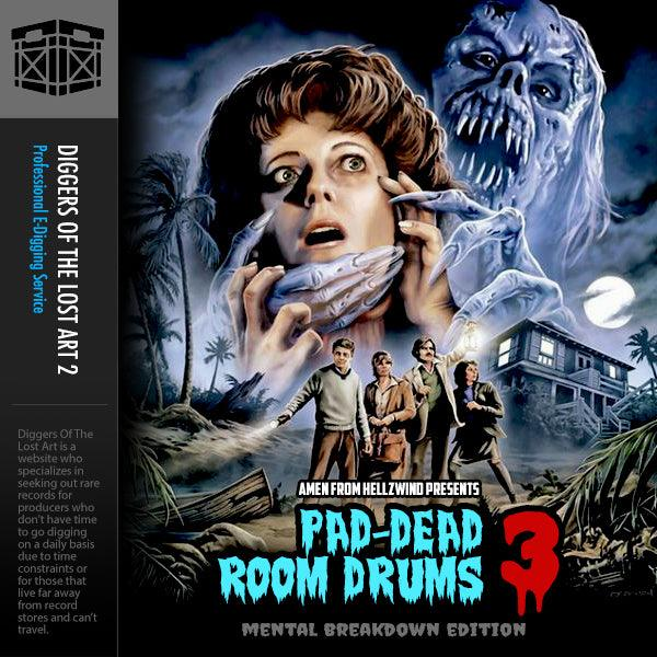 Pad-Dead Room Drums Volume 3