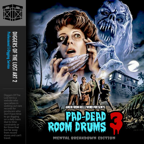 Pad-Dead Room Drums 3