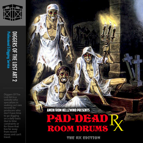 Pad-Dead Room Drums Volume 4