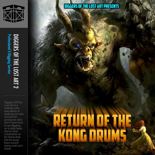Return of The Kong Drums - Boom Bap Labs
