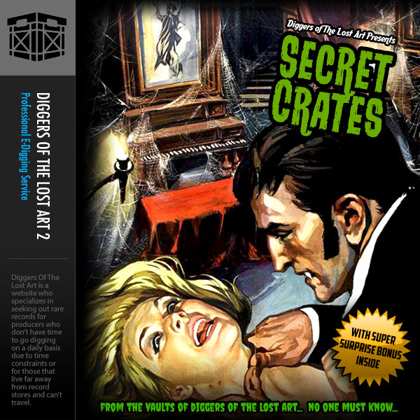 Secret Crates 1 - Boom Bap Labs