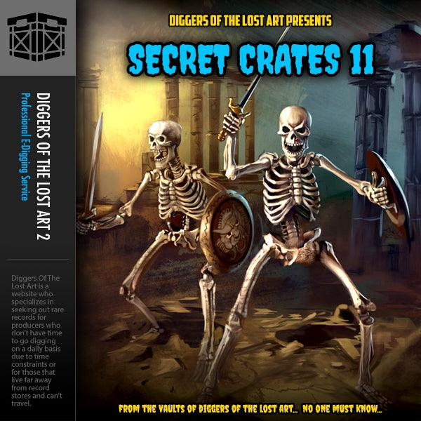 Secret Crates 11 - Boom Bap Labs