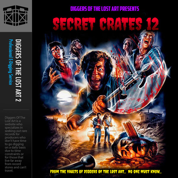 Secret Crates 12 - Boom Bap Labs