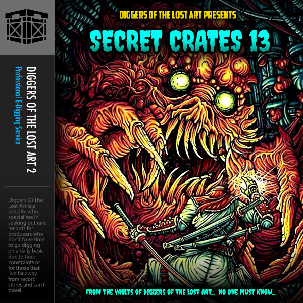 Secret Crates 13 - Boom Bap Labs