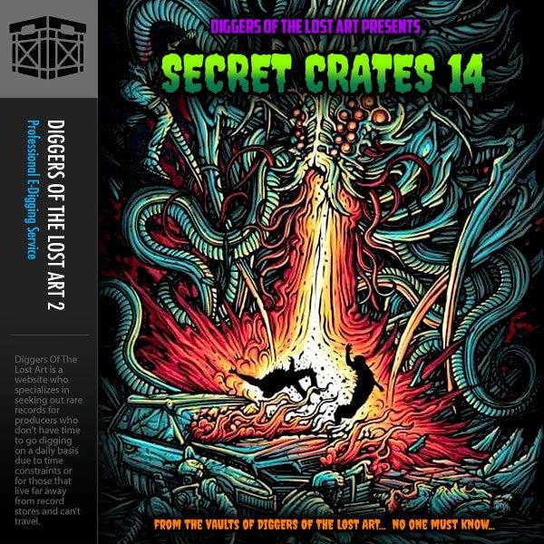 Secret Crates 14 - Boom Bap Labs
