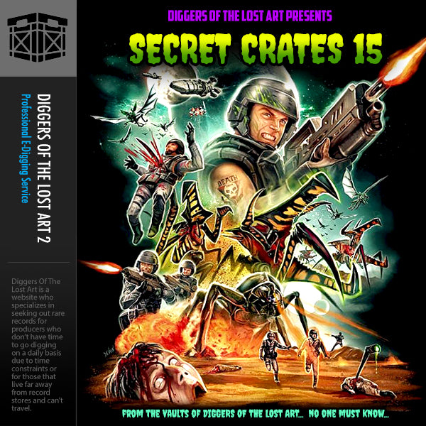 Secret Crates 15 - Boom Bap Labs