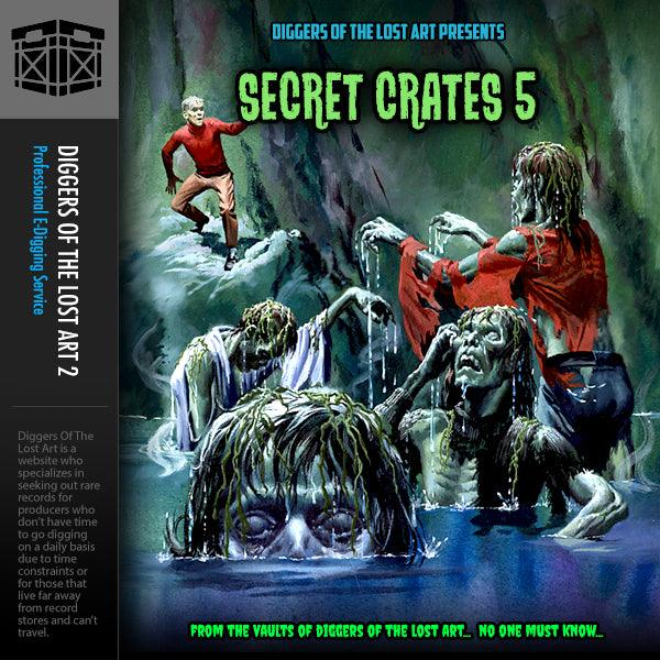 Secret Crates 5 - Boom Bap Labs