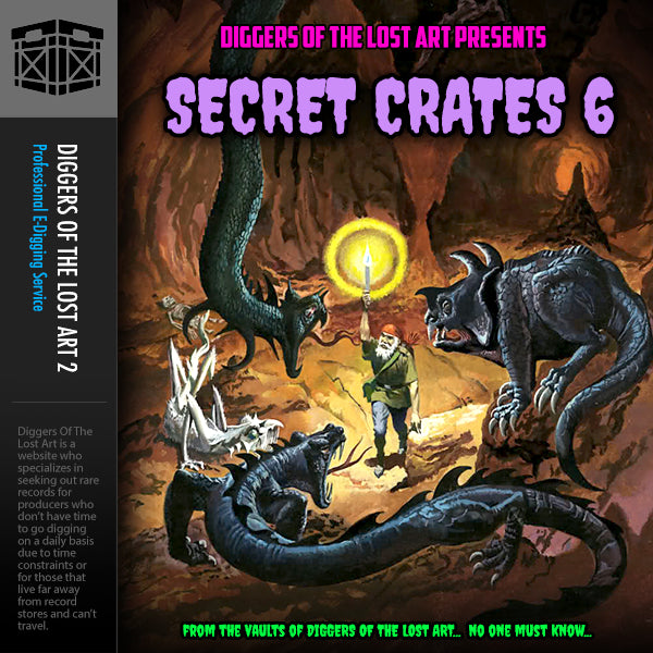 Secret Crates 6 - Boom Bap Labs