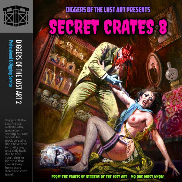 Secret Crates 8 - Boom Bap Labs