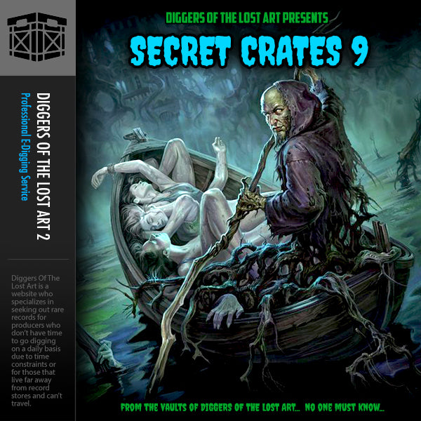 Secret Crates 9 - Boom Bap Labs