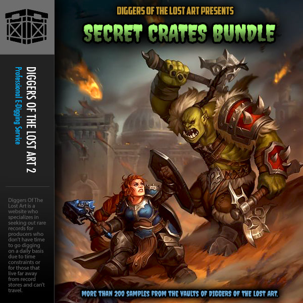 Secret Crates Bundle - Boom Bap Labs