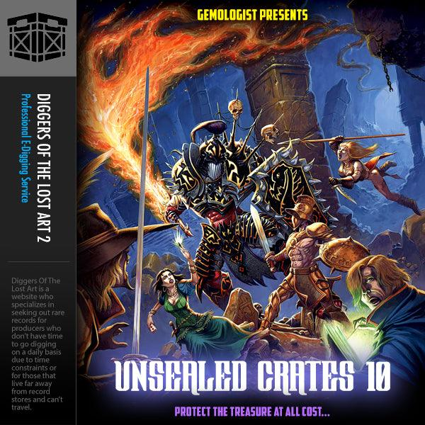 Unsealed Crates 10