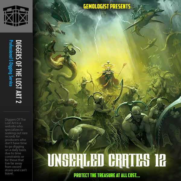 Unsealed Crates 12 - Boom Bap Labs