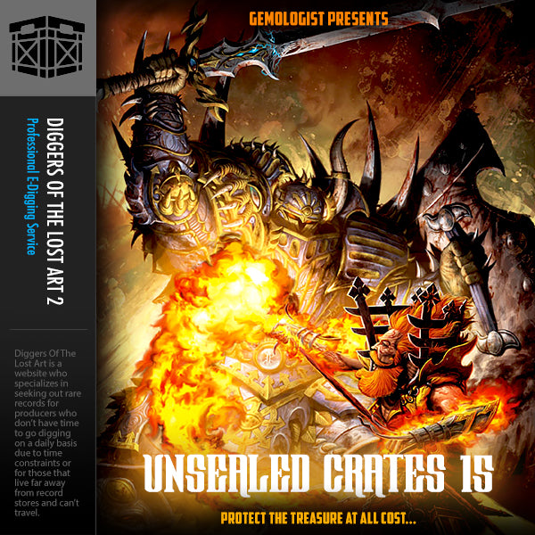 Unsealed Crates 15 - Boom Bap Labs