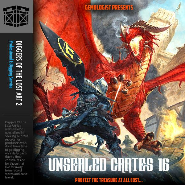 Unsealed Crates 16 - Boom Bap Labs