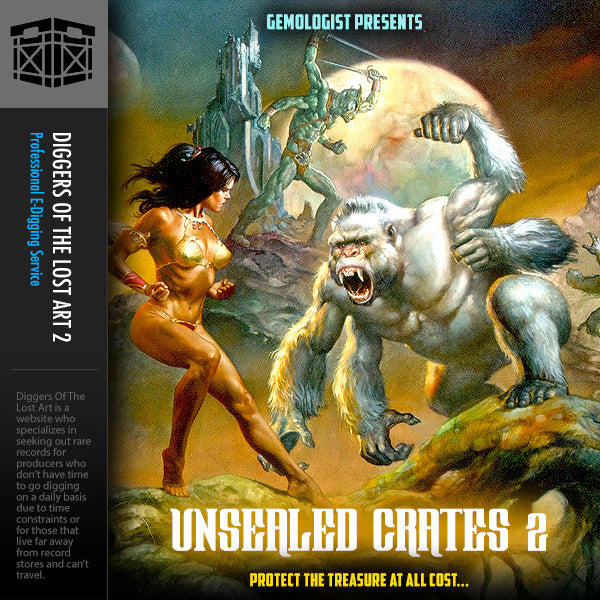 Unsealed Crates 2 - Boom Bap Labs