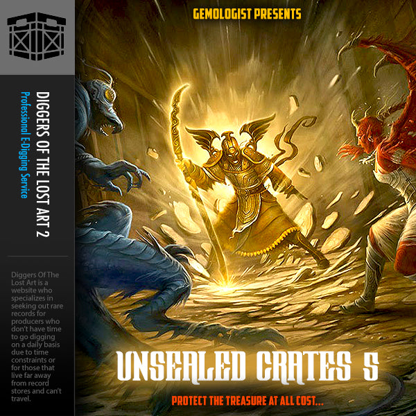 Unsealed Crates 5 - Boom Bap Labs