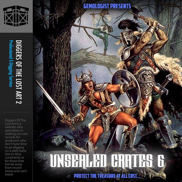 Unsealed Crates 6 - Boom Bap Labs