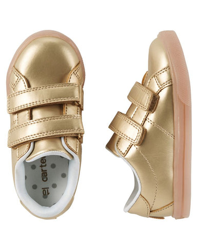 Carter's Edith Gold Light Up Sneakers