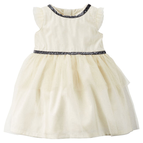 Carter's Sparkle Tiered Tulle Dress