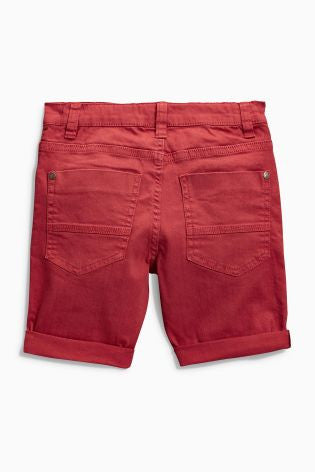 Next Five Pocket Shorts - Wine