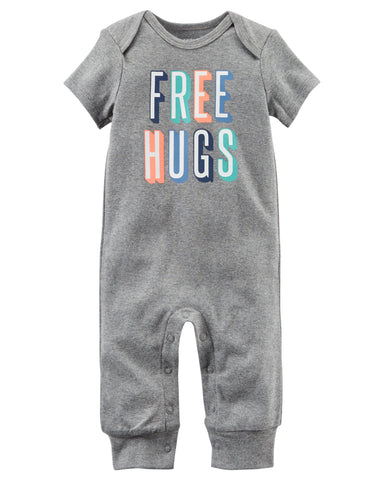 Carter's Free Hugs Jumpsuit