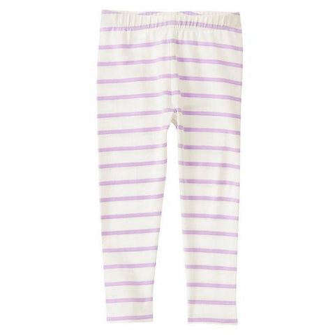 Crazy8 Girl Striped Lilac Leggings