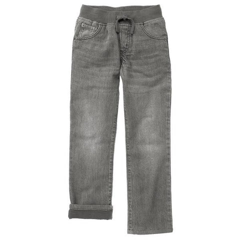 Gymboree Boy Slate Grey Pull-On Straight Jeans
