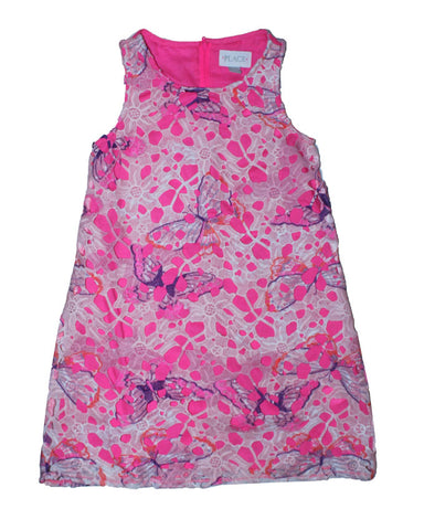 The Children Place Pink Lace Dress