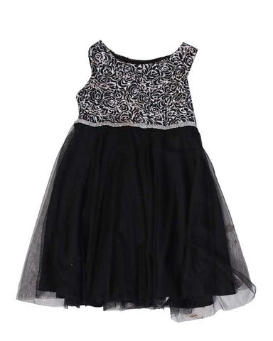 Black & White Lace Dress - uniquechildren