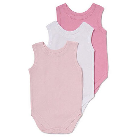 George 3 in 1 Sleeveless Bodysuits