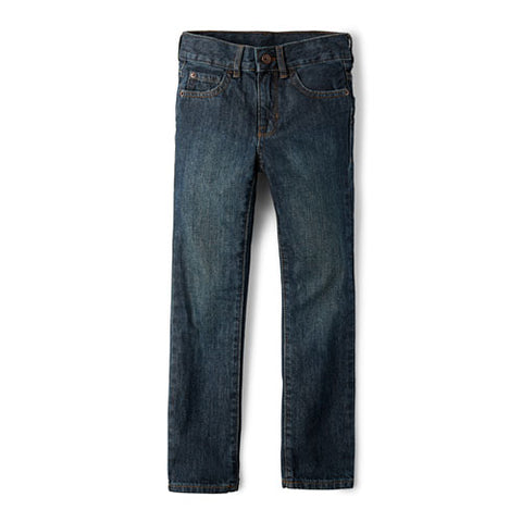 Children's Place Straight Cut Jeans/ Dry Indigo