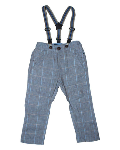 Next Boy Trouser With Suspender