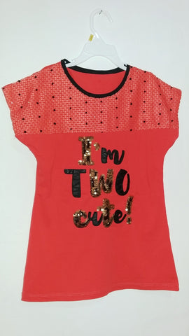 Too Cute Sequined Top