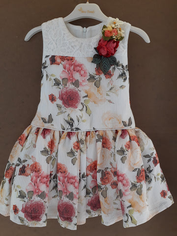 Miss Trendy Floral Sleeveless Dress