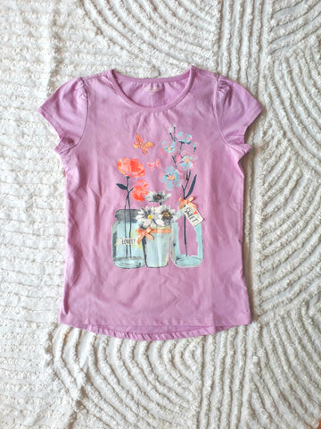 Toughskin Purple Girls Tee