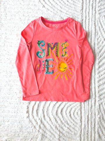 GapKids Peach Long Sleeve Top