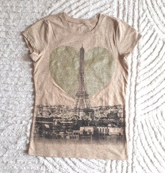 Children's Place Paris Gold T-Shirt