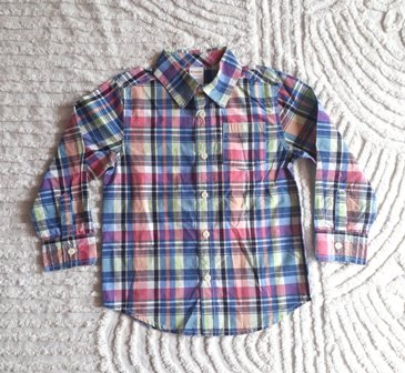 Gymboree Long Sleeve Plaid Shirt